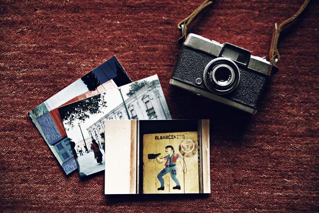 レトロなカメラと写真