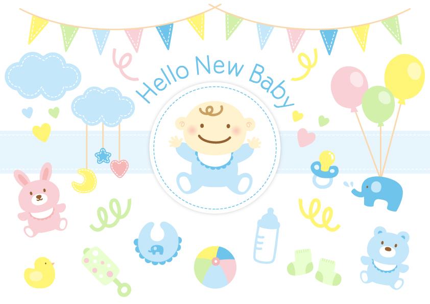 新生児と赤ちゃんグッズ