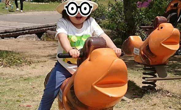 2歳娘と無料遊具