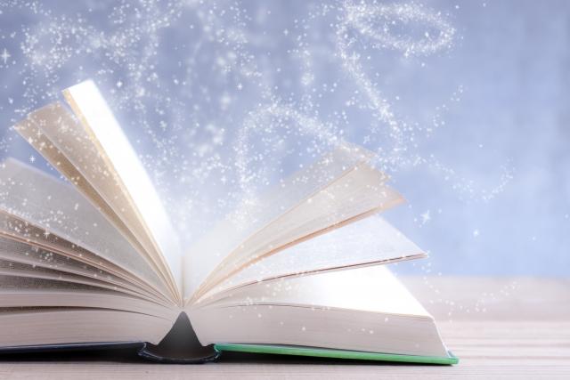 本から飛び出すファンタジーの画像